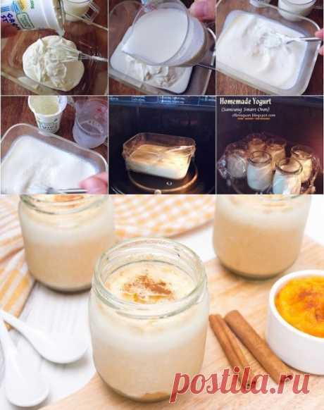 El yogurt en la multicocción