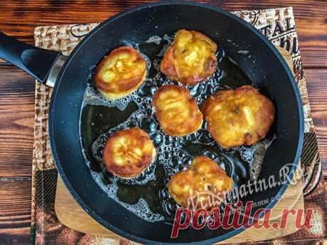 Яблочные пончики: рецепт с фото пошагово на сковороде