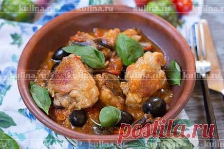 Каччиаторе – курица по-итальянски