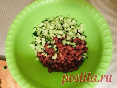 Салат из тунца с красной фасолью рецепт с фото пошагово