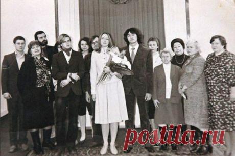 Редкие кадры со свадеб советских знаменитостей