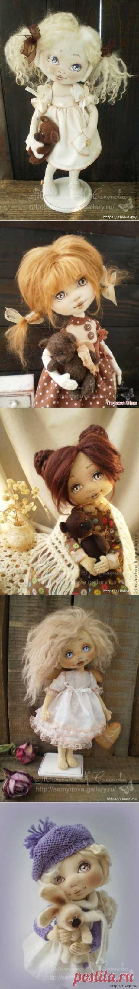 Очаровательные  куколки (выкройка).