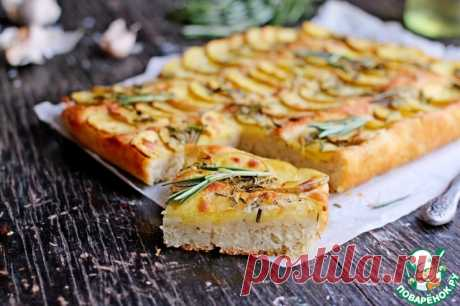 Картофельная фокачча – кулинарный рецепт