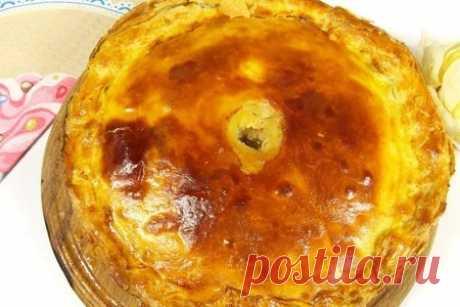 Пирог ларнака – рецепт с фото