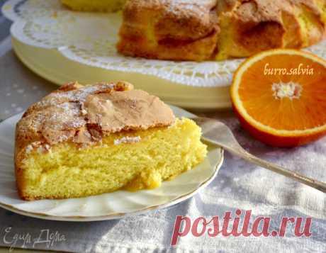 Нежный пирог с апельсинами. Ингредиенты: сахар, яйца куриные, апельсины   Официальный сайт кулинарных рецептов Юлии Высоцкой