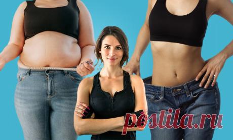 Избавление от большого живота – простая зарядка для людей с весом 85+ кг (английская методика) | Похудей с нами | Яндекс Дзен