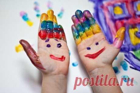 3 простых варианта пальчиковых красок!