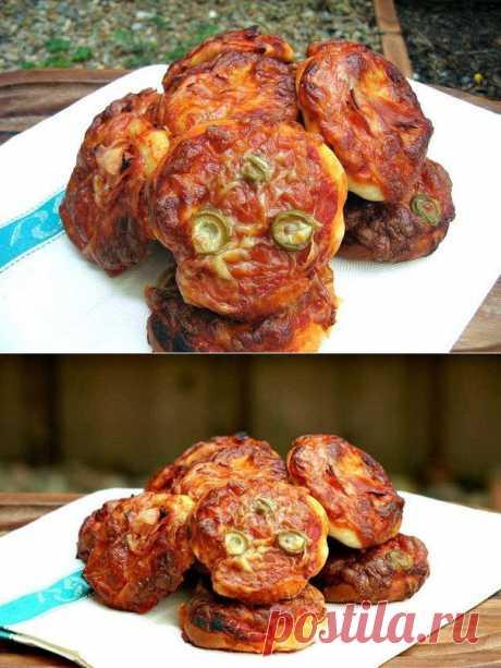 Пиццетте кулинарный рецепт с фото от Paragrams
