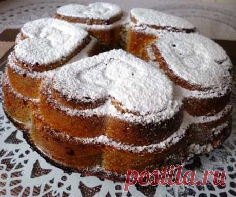 Пышный маковый пирог – пошаговый рецепт с фотографиями