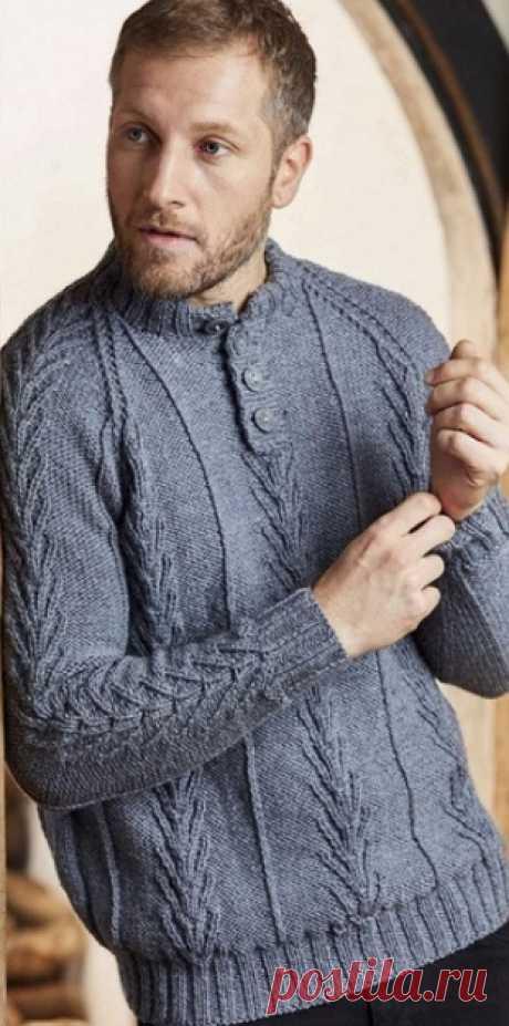 Мужской пуловер 2019