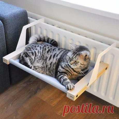 Уютное теплое местечко для любимого котэ