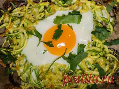 Пролетни гнезда от тиквички с яйца и чедър - Vili's time