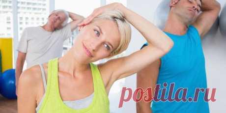 Комплекс упражнений при остеохондрозе шейного отдела позвоночника. Зоны массажа при шейном остеохондрозе