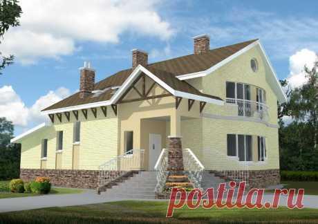 Чертежи двухэтажного дома » Проекты домов бесплатно