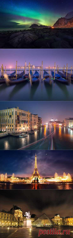 Завораживающие фотографии самых красивых мест на земле.