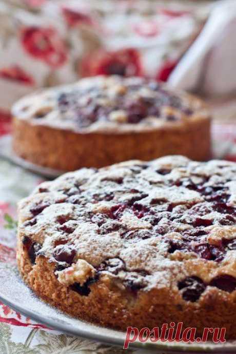 Вкусная жизнь - Вишневые пироги.