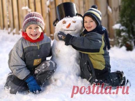 Что нужно успеть сделать зимой? (список затей для детей) » Женский Мир