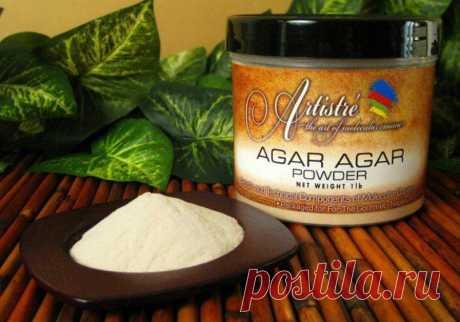 Агар-агар для похудения: полезные свойства Агар-агара - натурального природного вещества из водорослей, как его применять в диете: