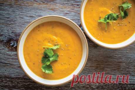 Кремовый морковный суп-кошерные рецепты / ou Kosher Certification Просто укроп-ледышка!