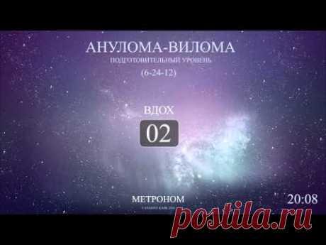 Анулома-Вилома (Метроном 6-24-12)