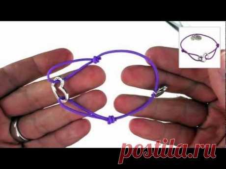 """Das Design-/ Bastelset besteht aus einem 1,5mm breiten elastischen Band, einem trendigen Herzanhänger, unserem Logoanhänger sowie einem """"Made for you"""" Schmuc..."""