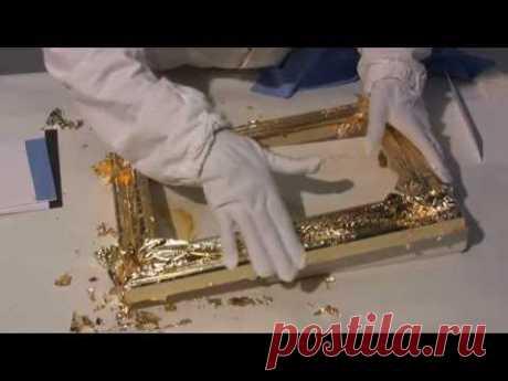 Курс Золочения: 6 - Имитация благородных металлов - поталь