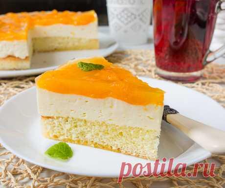 Венский пирог с мандаринами - Вкусный блог - рецепты под настроение