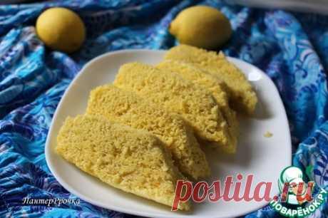 Лимонный пирог на пару - кулинарный рецепт
