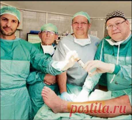 Впервые в мире: в Израиле провели пересадку костей, выращенных в лаборатории
