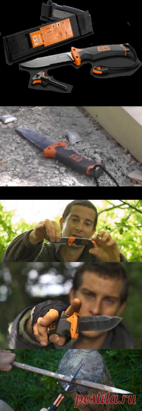 Нож Gerber BG Ultimate и фонарь QUATRO - легендарный комплект для выживания