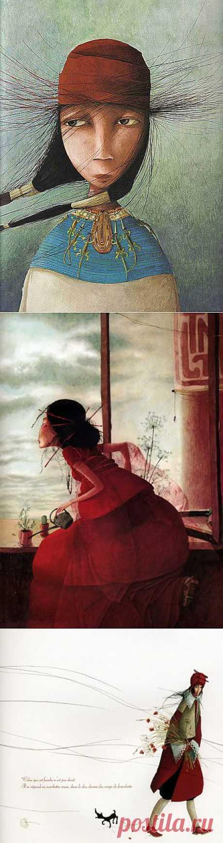 Иллюстратор детских книг Ребекка Дотремер | Fresher - Лучшее из Рунета за день