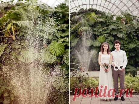 Летняя зима: Свадьба Ксении и Виктора - WeddyWood