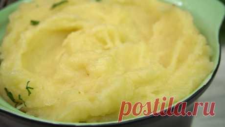 Самое вкусное Картофельное пюре СПОСОБОМ привезенным из немецкой деревушки. Ну очень вкусно!