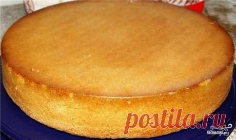 Бисквит на скорую руку - кулинарный рецепт с фото на Повар.ру