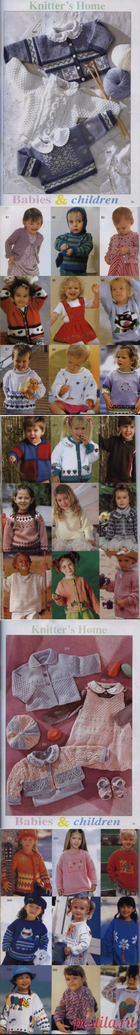 Bright, elegant children's models with patterns and schemes. Big selection