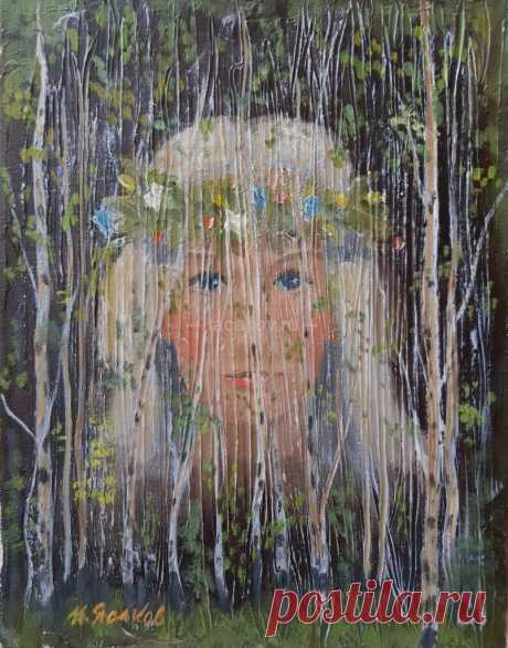 Роща - Официальный сайт художника Игоря Ясакова