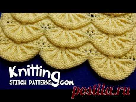 Alsacian Scallops | Pretty Lace Knitting #14