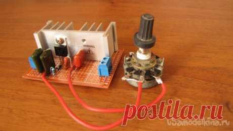 Регулятор мощности до трёх киловатт