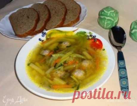 Суп с фрикадельками и кабачковой лапшой рецепт 👌 с фото пошаговый   Едим Дома кулинарные рецепты от Юлии Высоцкой