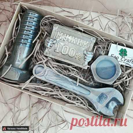 Декоративное мыло для мужчины на 23 февраля HandMade