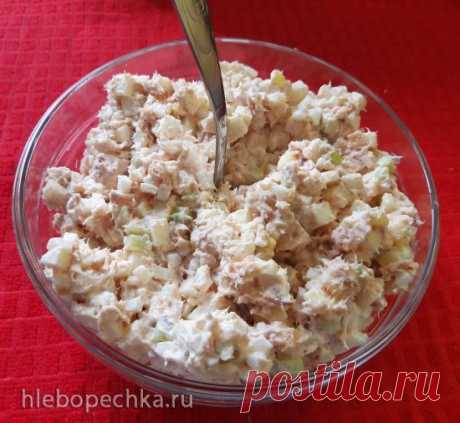 """Огуречный салат """"Турецкий"""" - рецепт с фото на Хлебопечка.ру"""