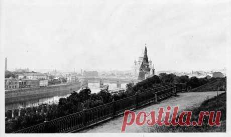 Москва в 1909 году. | Фотохронограф