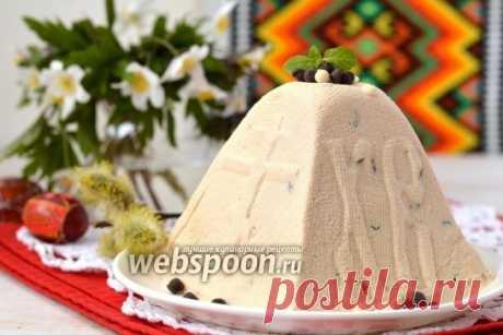 La Pascua de la riázhenka la receta de la foto, como preparar en Webspoon.ru