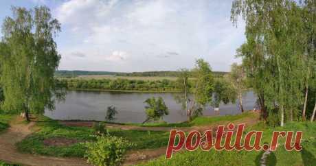 «Пожалуй, нигде поблизости от Москвы не было мест таких типично и трогательно русских по своему пейзажу…» Константин Паустовский о Тарусе.