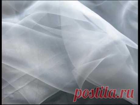 Как правильно стирать тюль и нежные ткани