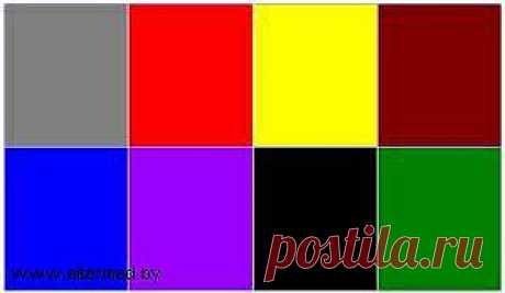 Психология цвета - что это?