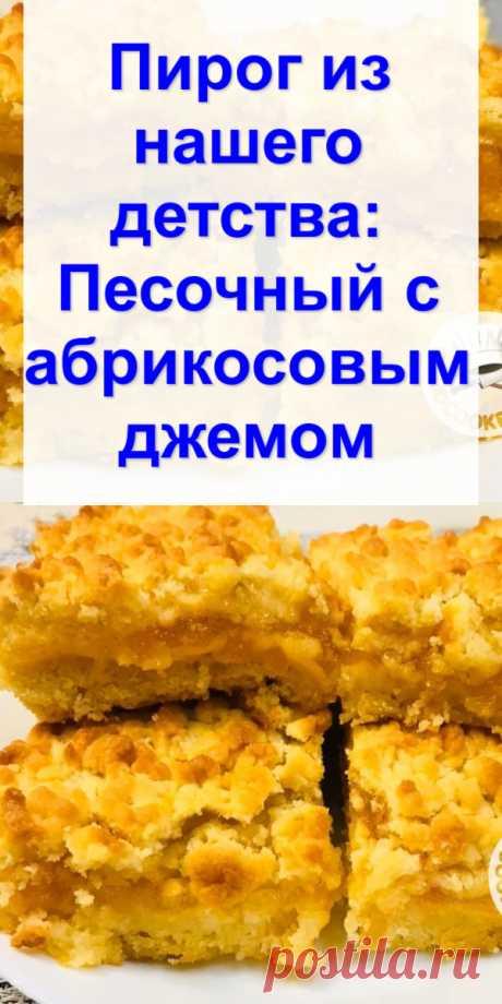 Пирог из нашего детства: Песочный с абрикосовым джемом - Готовим с нами Вкусный и рассыпчатый тертый пирог с начинкой из абрикосового джема. Такую выпечку нам часто готовила бабушка. Даже сейчас, когда у самой внуки, сердце наполняется детской радостью, когда вспоминаю об этом. Начинку можно подбирать по своему вкусу. Используйте любой джем, повидло, ягоды или фрукты. Ароматная, сладкая выпечка всем придется по вкусу. Единственное, что я изменила в […]