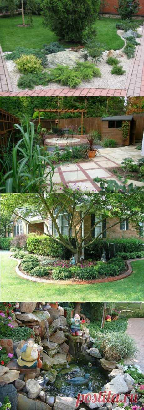 Дизайн садового участка в картинках.