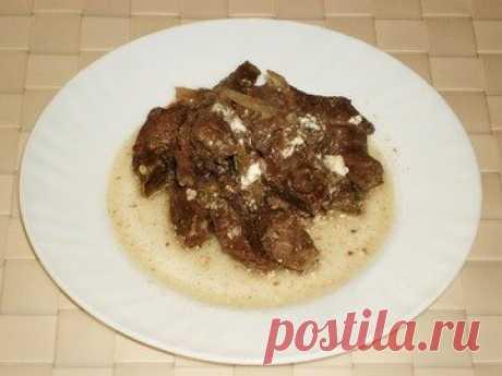 Сердце тушеное говяжье - простой и вкусный рецепт с пошаговыми фото