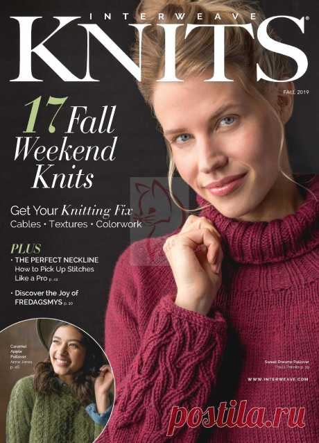 "Журнал ""Interweave Knits"" - Fall 2019г."